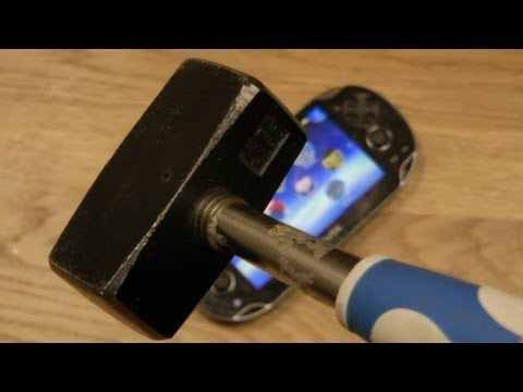 PlayStation Vita Hammer Drop Test
