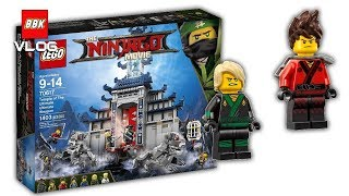 LEGO Ninjago Movie Temple of the Ultimate Ultimate Weapon 70617 Review Speed Build Unboxing