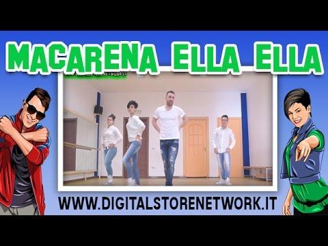 MACARENA ELLA ELLA   Joey&Rina   Balli di gruppo 2016 Line Dance
