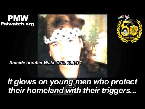 Fatah glorifies terrorists and suicide bombings that killed dozens of Israelis