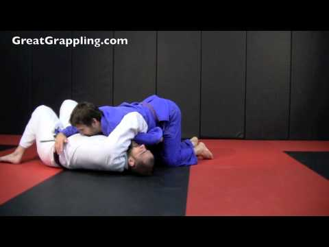 Half Guard Sweep Kimura Roll Image 1