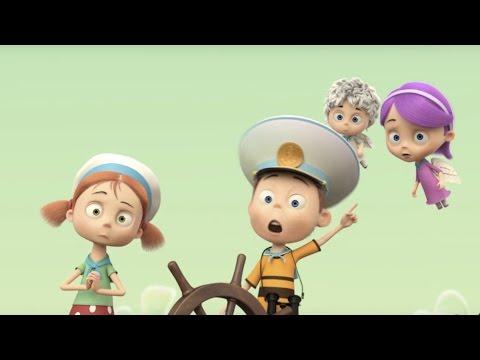 Мультфильм Ангелы Бэби - Опасное плавание (6 серия) Премьера мультфильма!