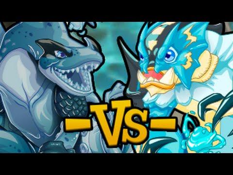 Miscrits Showdown #60: Aquarion vs. Lagoony