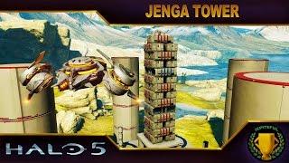 Halo 5 Custom Game : Jenga Tower