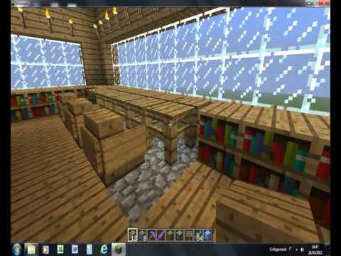 come fare una bella villa su minecraft!