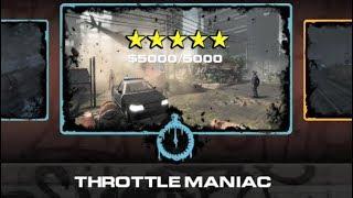 UTF 5 7 throttle maniac time 5 stars