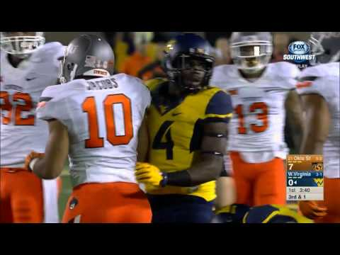 Oklahoma State at West Virginia football 2015 - No Huddle
