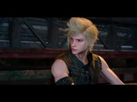 Noctis and Prompto Motel Roof Scene (Final Fantasy XV)