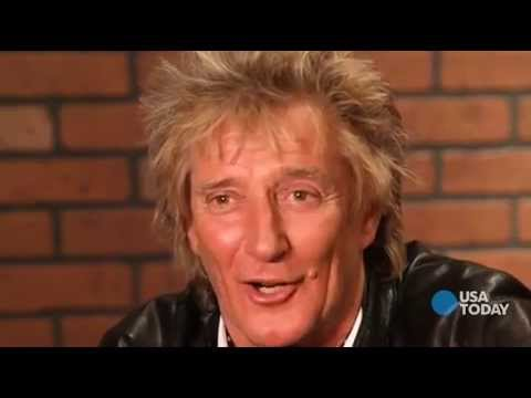 Rod Stewart - Five Questions Interview with USA Today 2013