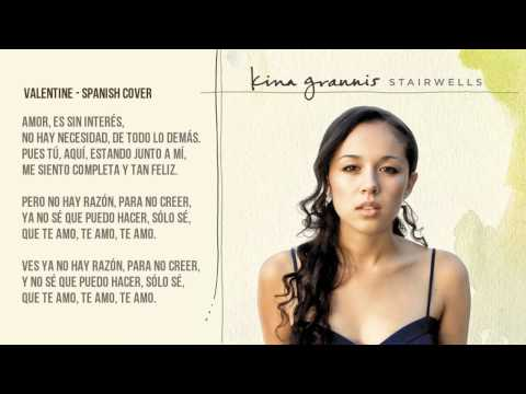 Kina Grannis - Valentine Spanish Cover cover En Español video