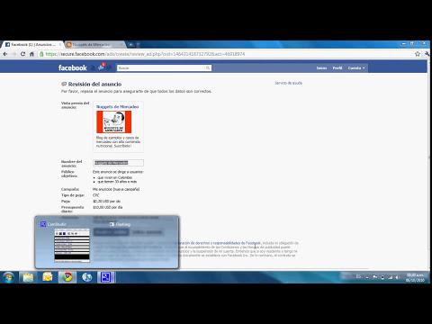 Cómo crear anuncios publicitarios en Facebook
