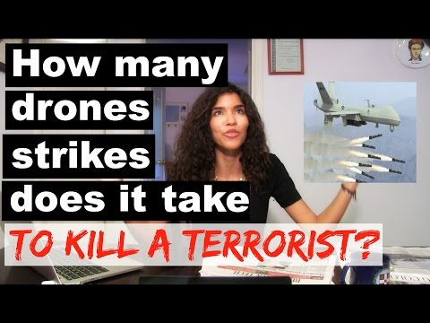How many drone strikes does it take to kill a terrorist?