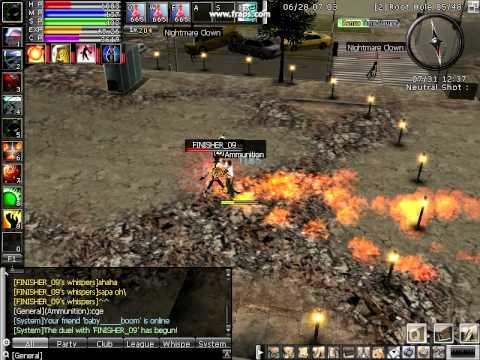 Gunner Ran Ran Online King of Duel Gunner