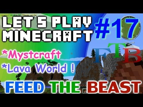 Let's Play Minecraft Hermitcraft FTB Ep. 17 - Mystcraft Lava World!