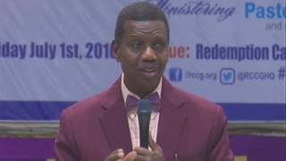 Pastor E.A Adeboye Sermon At RCCG July 2016 HOLY COMMUNION SERVICE
