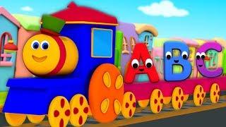 بوب قطار الأبجدية مغامرة | تعليمي الفيديو | Learn Alphabets | Bob Train Alphabet Adventure