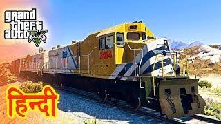GTA 5 - High Speed Train Experiment With Trevor
