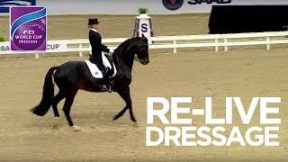 RE-LIVE | Dressage Grand Prix Gothenburg | FEI World Cup™ Dressage 2017/18