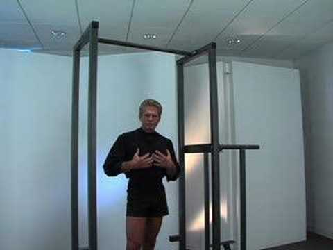 John E. Peterson: Hanging Leg Raises