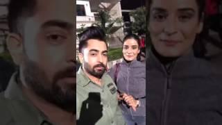 Sharry Mann Ne Naal Dekho Usdi Wife --  OMG