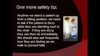 Intro for Ambulating with a gait belt CNA Skills