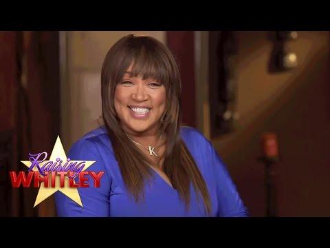 Kym Gets a Knee-Buckling Kiss from Actor Shemar Moore - Raising Whitley - Oprah Winfrey Network