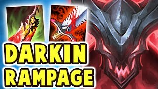 NEW DARKIN KAYN JUNGLE RAMPAGE | MYTH BUSTED!! THE BEST BUILD IS TOO OP (SOULHUNTER KAYN) Nightblue3