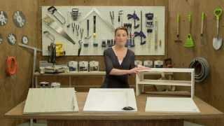 Play diy comment peindre un meuble m lamin avec effet bois - Peindre meuble en melamine ...