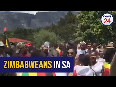 WATCH: Zim nationals rally outside Zimbabwe Consulate in Cape Town