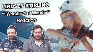 34 Lindsey Stirling I Wonder As I Wander 34 Singers Reaction