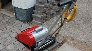 Plate Compactor - WHY RENT?? BUILD YOUR OWN!!!