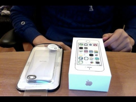 Iphone 5s Gold Unbox Iphone 5s Gold Unboxing Along