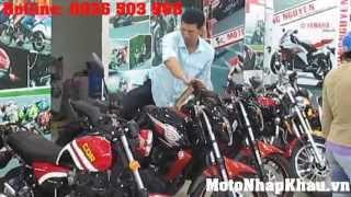 Cửa hàng bán xe mô tô phân khối lớn