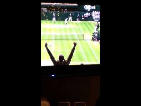 Sabine Lisicki Match Point Vs Serena Williams 4th Round Wimbledom 2013