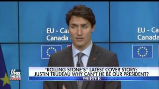 Rolling Stone wants Trudeau for president