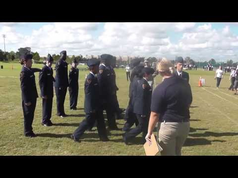 Wekiva High School AFJROTC Regulation Drill Sequence 10/19/13