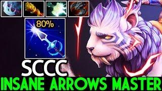 SCCC [Mirana] Insane Arrows Master Mid Lane Cancer Game 7.21 Dota 2