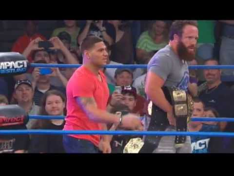 Ronnie from MTV's Jersey Shore Makes IMPACT WRESTLING Debut