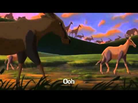 The Lion King 2   He lives in You Instrumental SaveYouTube com