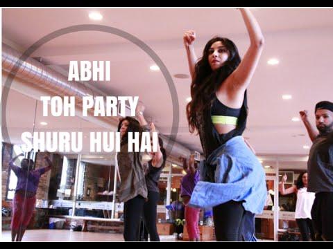 Abhi Toh Party Shuru Hui Hai Choreography - Shereen Ladha Master Class Series - Bollywood Dance