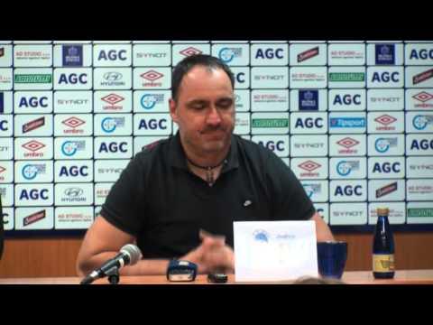 Tisková konference hostujícího trenéra po zápase s Libercem (27.2.2016)