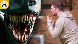 VENOM Set Video Reveals Eddie Brock Talking With Symbiote