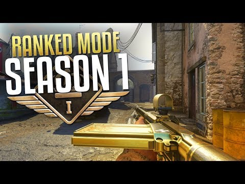 Ranked Play Season 1 (Call of Duty: WW2 Multiplayer Gameplay Stream)