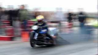 Pro Nitrous Drag Bike 1/8 Mile 4.28 @ 166 mph