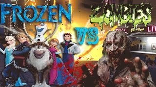 Grand Theft Auto IV - Frozen Vs Zombie Apocalypse #GTA IV