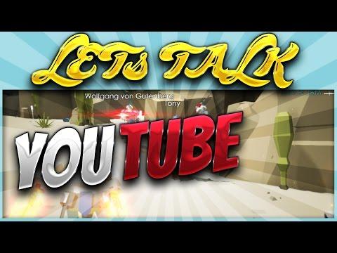 Let's Talk - YouTube Advice & Plans
