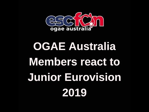 OGAE Australia reacts to Junior Eurovision 2019