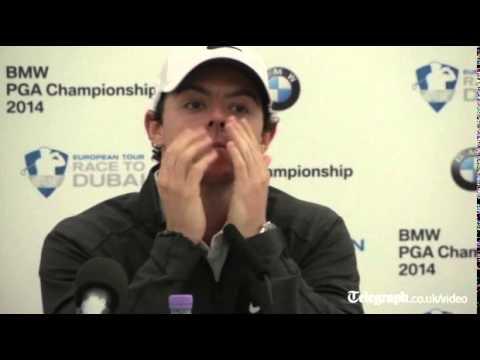 McIlroy speaks about Wozniacki split