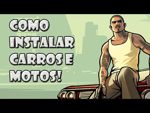 COMO INSTALAR CARROS NO GTA SAN ANDREAS!- SEM PROGRAMAS!