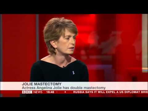Gilda Witte, Chief Executive of Ovarian Cancer Action, on BBC News